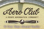 Aero Club community sign